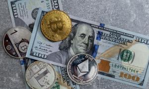 krypto waluty tło